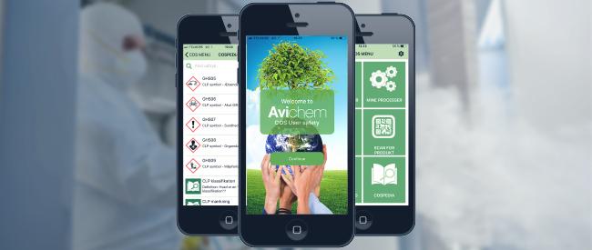 COS app Chemical Online Service