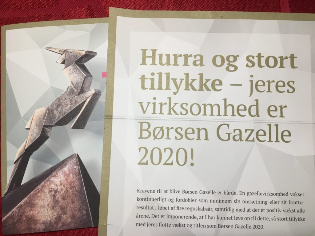 Børsen gazelle 2020